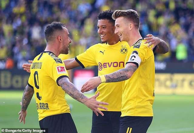 Dortmund đang thể hiện phong độ xuất sắc sau khi đánh bại Leverkusen 4-0 hồi cuối tuần