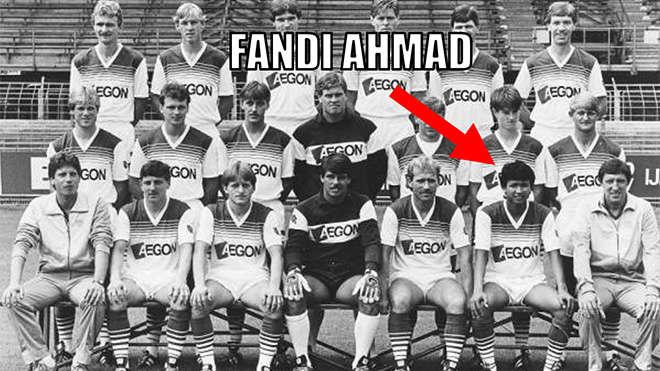 Fandi Ahmad trong đội hình Groningren
