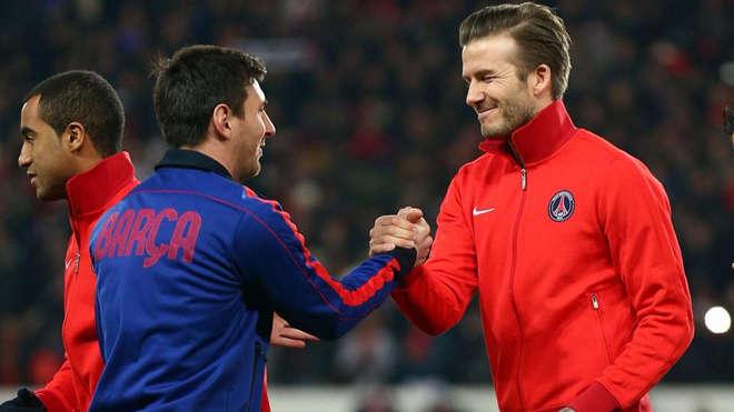 Beckham muốn đưa Messi tới Inter Miami