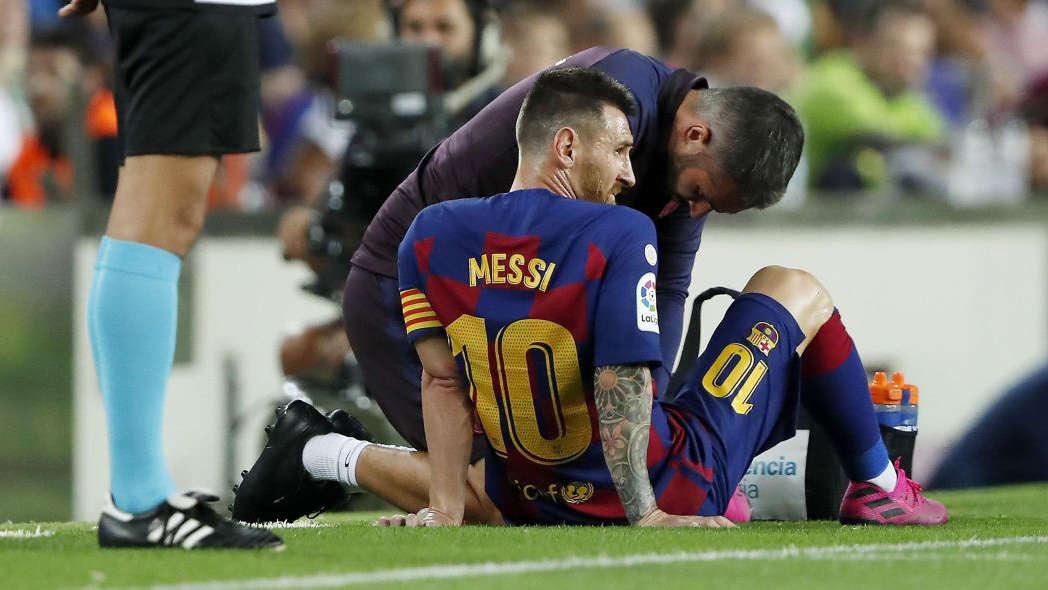 Messi liên tục dính chấn thương ở mùa giải này