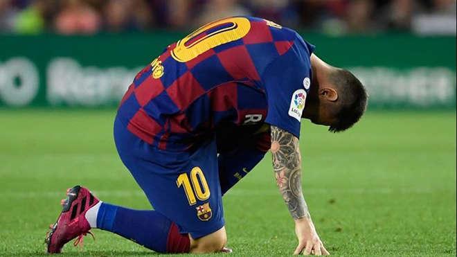 Barca đang kỳ vọng tình hình của Messi không quá nghiêm trọng