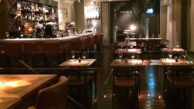 Nhà hàng nơi diễn ra bữa tối của MU