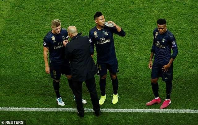Real Madrid đã thi đấu thiếu nhiệt huyết