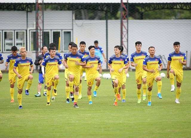 Hầu hết các tuyển thủ Việt Nam đều đang đạt trạng thái tốt