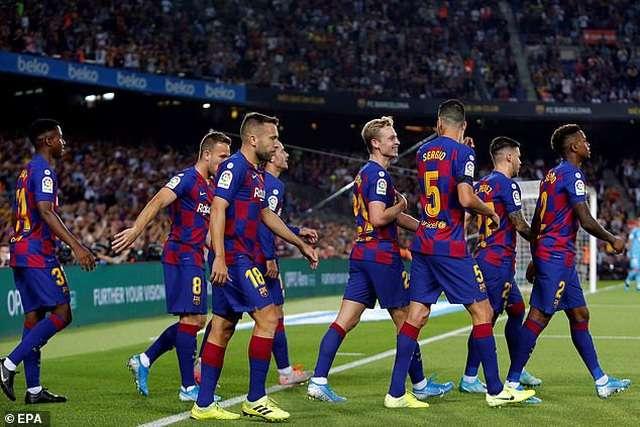 Barcelona vừa đánh bại Valencia 5-2 tại La Liga