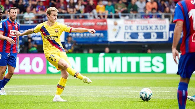 De Jong đang có ảnh hưởng lớn ở Barca