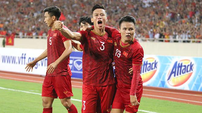 Không chỉ với sự vượt trội về chuyên môn, các cầu thủ Việt Nam cũng đang có tinh thần thi đấu cực tốt trước Indonesia