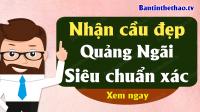 Dự đoán XSQNG 12/10/2019 - Soi cầu dự đoán xổ số Quảng Ngãi ngày 12 tháng 10 năm 2019