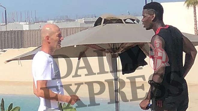 Pogba và Zidane bí mật gặp gỡ tại Dubai