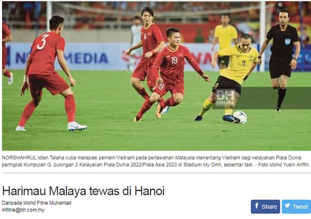 Tờ BH Online ngã mũ thán phục sức mạnh của đội tuyển Việt Nam