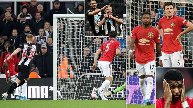 MU đã trải qua một tối đáng quên trên sân Newcastle