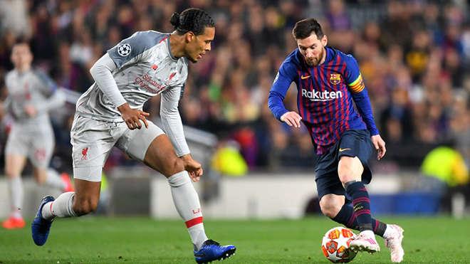 Leo Messi đánh giá rất cao về Van Dijk