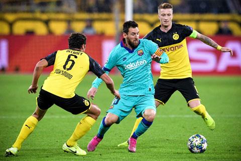 Barca vs Dortmund: Bất ổn!