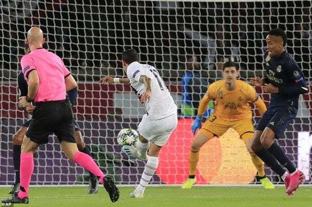 Di Maria tỏa sáng với cú đúp vào lưới Real Madrid ở lượt đi