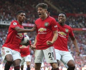 Daniel James, Rashford và Martial: Cây đinh ba không thể thiếu của Man United