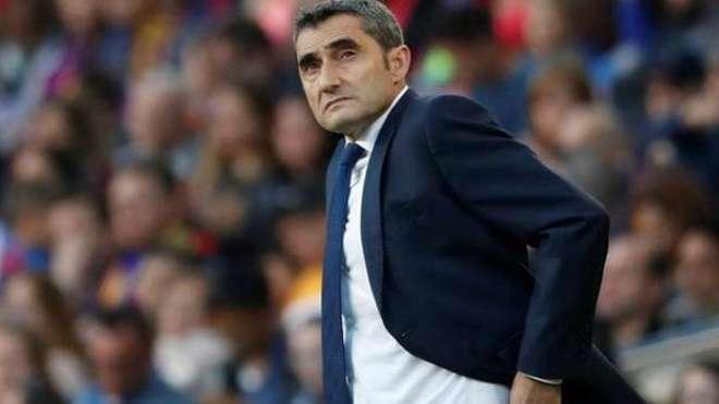 Ông Valverde đang đối mặt với nguy cơ bị sa thải
