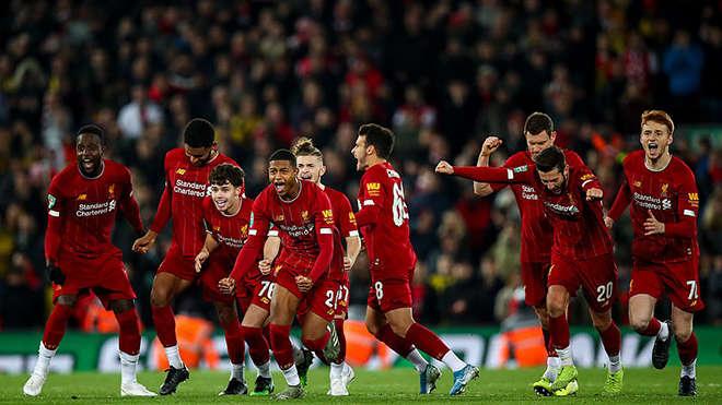 Liverpool xuất sắc giành quyền vào tứ kết cúp Liên đoàn Anh
