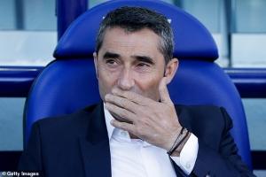 HLV Ernesto Valverde một lần nữa đứng trước nguy cơ bị sa thải