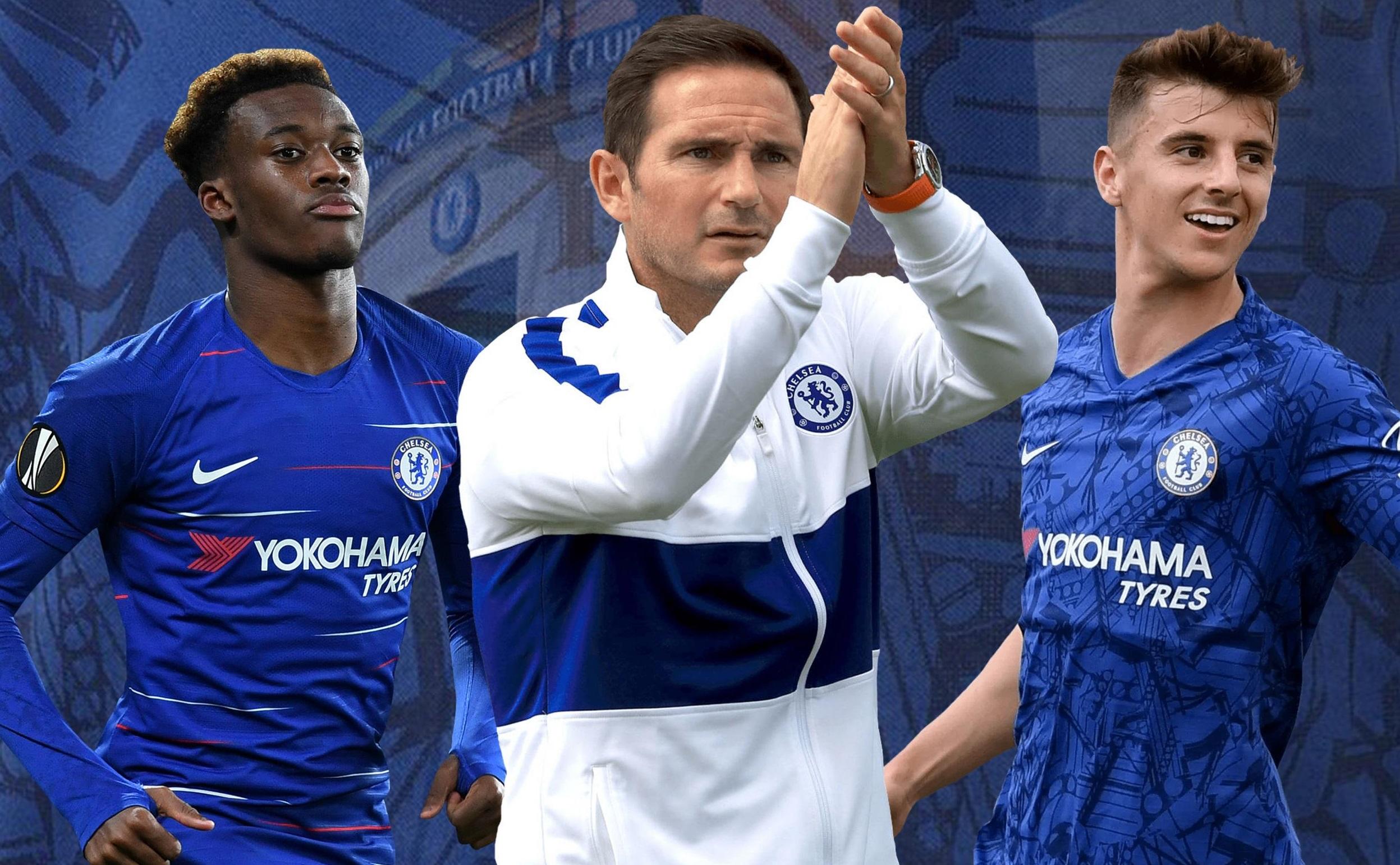 Nòng cốt của tuyển Anh đang là những cầu thủ trẻ của Chelsea