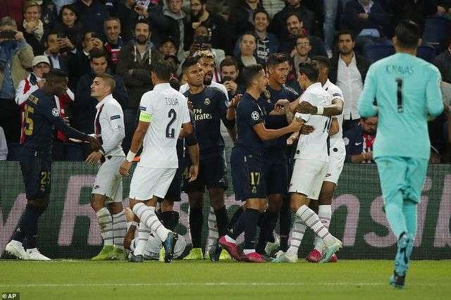 Real Madrid quyết giành 3 điểm trước PSG để giành vé đi tiếp