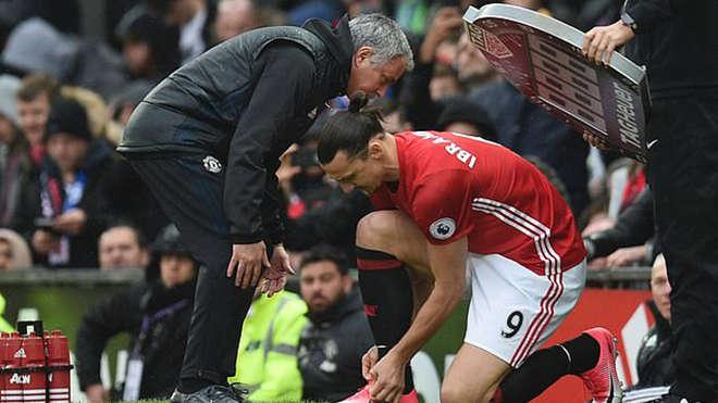 Mourinho và Ibrahimovic thời ở MU
