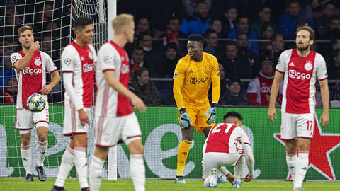 Ajax luôn chơi bóng dựa vào cảm hứng