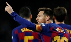 Messi sẽ vượt qua kỷ lục của Pele trong năm 2020