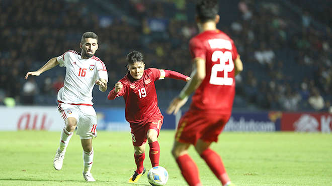 Quang Hải tiếp tục được đặt kỳ vọng lớn trong trận đấu của U23 Việt Nam và U23 Jordan
