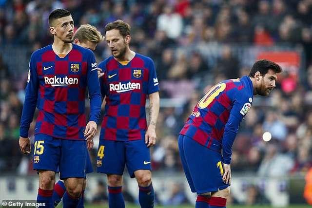 Barcelona đang đầy hưng phấn khi mới giành ngôi đầu bảng La Liga