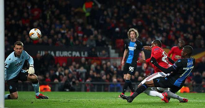 Odion Ighalo đã ghi bàn thắng đầu tiên trong màu áo MU