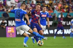 Napoli vs Barca: Khó cho Barca