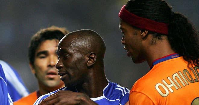 Makelele nhiều lần đối đầu Ronaldinho