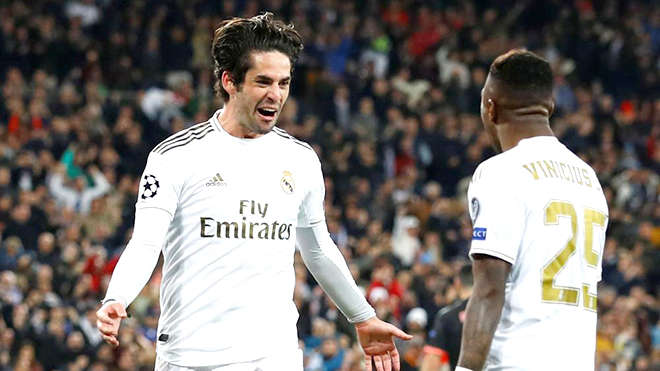 Isco luôn đáp ứng những kì vọng của Zidane mỗi khi có cơ hội ra sân