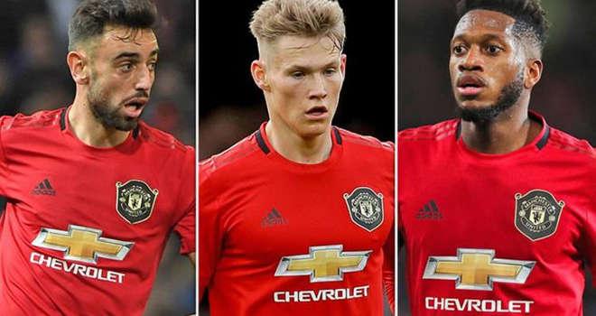 McTominay, Bruno Fernandes và Fred sẽ là 3 tiền vệ chính của MU trong tương lai