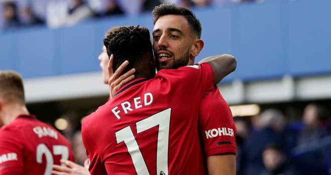 Fred và Fernandes đang là bộ đôi được ưa thích ở MU