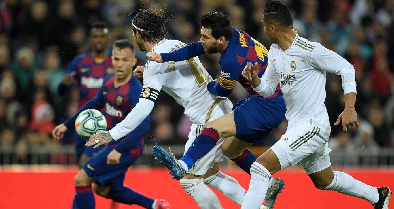 Messi và Barca chứng kiến Real Madrid giành vị trí đầu bảng