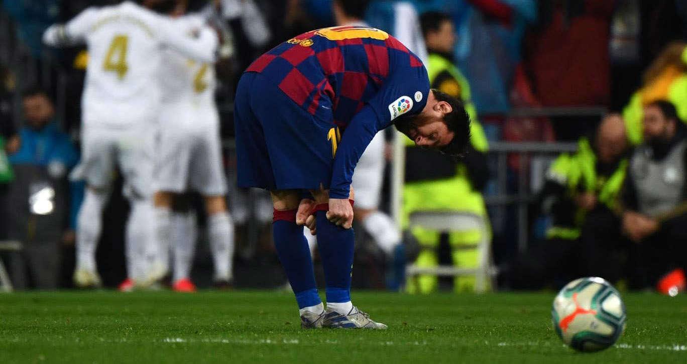 """Lionel Messi tịt ngòi ở trận """"Kinh điển"""" vừa qua"""