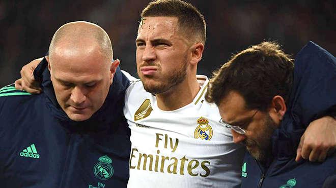 Chấn thương dài hạn đã khiến Hazard không thể là chính mình trong màu áo Real Madrid