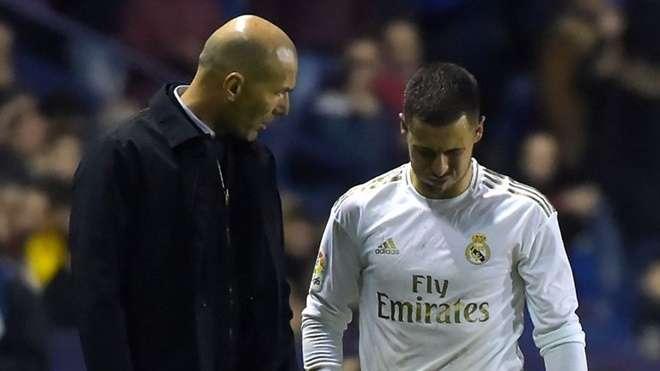 Hazard trải qua mùa giải đầu tiên đầy thất vọng ở Real Madrid