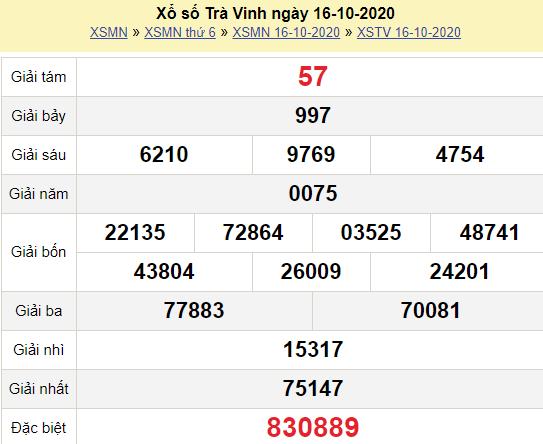 XSTV 16/10/2020