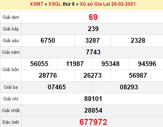 XSGL 26/2/2021