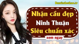 Dự đoán XSNT 14/5/2021 - Soi cầu dự đoán xổ số Ninh Thuận ngày 14 tháng 5 năm 2021