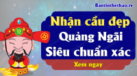 Dự đoán XSQNG 15/5/2021 - Soi cầu dự đoán xổ số Quảng Ngãi ngày 15 tháng 5 năm 2021